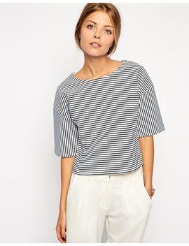 asos-premium-striped-top by asos-collection