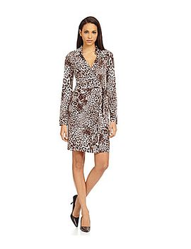 calvin-klein-animal-print-wrap-dress by generic
