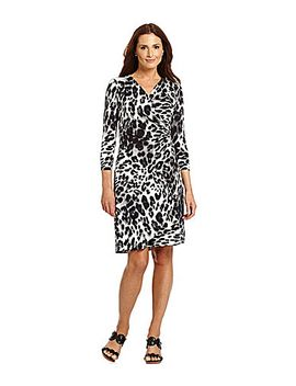tommy-bahama-marine-leopard-wrap-dress by generic