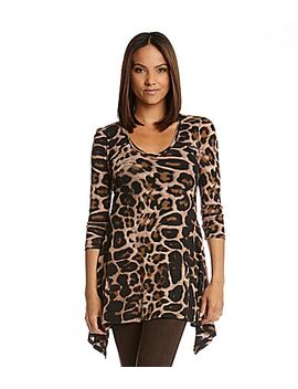 karen-kane-cheetah-print-sharkbite-top by generic