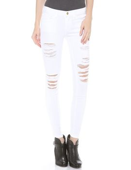le-color-rip-skinny-jeans by frame