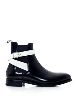 leather-chelsea-boots-(157272) by balenciaga