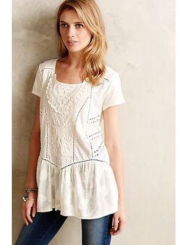 pintucked-peasant-top by anthropologie