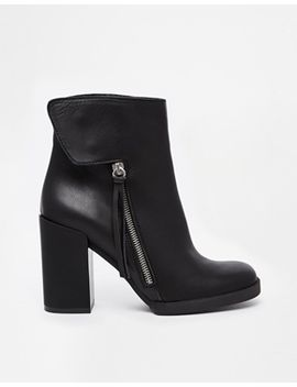 miista-ashlee-zip-side-heeled-ankle-boots by miista
