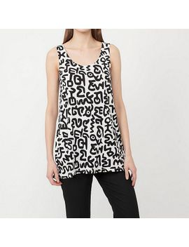 women-sprz-ny-graphic-sleeveless-tunic-(keith-haring) by uniqlo