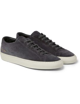 original-achilles-suede-sneakers by common-projects