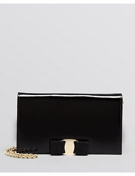 crossbody---miss-vara-bow-patent-wallet-on-a-chain by salvatore-ferragamo