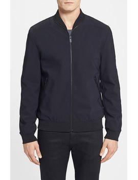 hugo-neoprene-bomber-jacket by hugo-boss