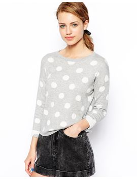 new-look-jacquard-spot-jumper by new-look