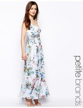 little-mistress-petite-floral-print-maxi-dress by little-mistress-petite