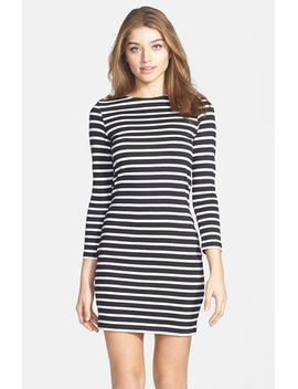 stripe-cotton-body-con-dress by french-connection