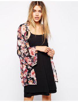 glamorous-kimono-in-floral-print by asos