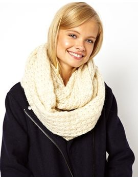 asos-rib-knit-snood by asos-collection