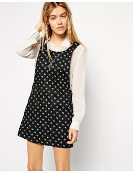 asos-reclaimed-vintage-pinafore-dress-in-ditzy-print by reclaimed-vintage