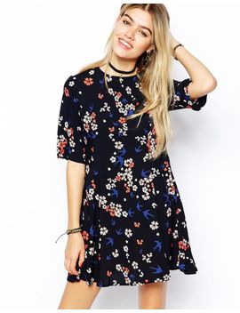 glamorous-fit-and-flare-dress-in-floral by glamorous