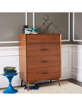 mid-century-4-drawer-dresser---acorn by west-elm