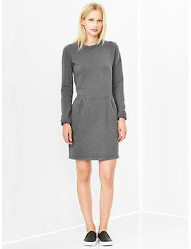 lived-in-sweatshirt-dress by gap