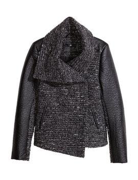 bouclé-jacket by h&m