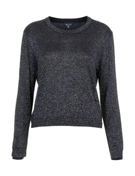 lurex-sweater by topshop