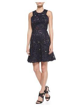 sleeveless-confetti-lace-overlay-dress by shoshanna