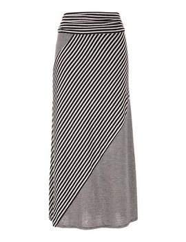 mixed-stripe-maxi-skirt by maurices