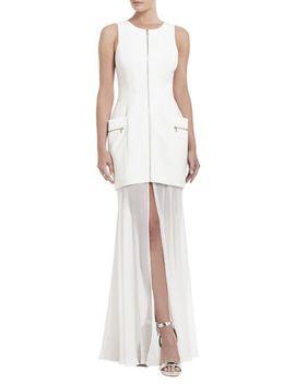 annalisa-sleeveless-sheer-skirt-dress by bcbgmaxazria