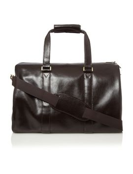 linea-brown-medium-holdall by linea