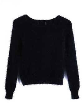 black-mohair-crop-sweater by choies