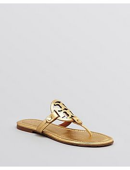 tory-burch-logo-thong-sandals by miller