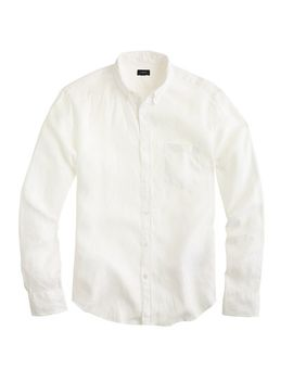slim-irish-linen-shirt-in-solid by jcrew