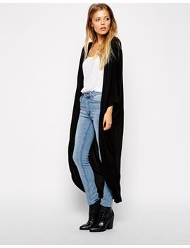 asos-jersey-maxi-kimono by asos-collection
