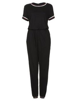 sporty-trim-t-shirt-jumpsuit by topshop