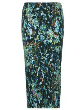 animal-print-tube-skirt by topshop