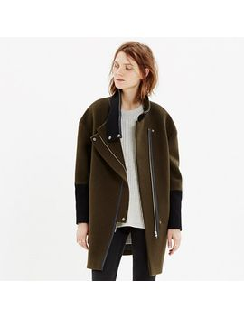 city-grid-coat by madewell