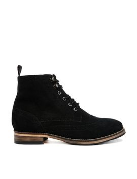 asos-acting-up-suede-ankle-boots by asos-collection