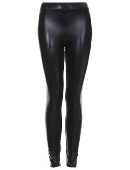 shiny-wetlook-legging by topshop