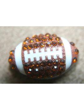 set-of-9-rhinestone-sports-slide-charm-charms-football-8mm-bracelet-hair-ties-t219 by laceandtrims