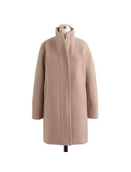 stadium-cloth-cocoon-coat by jcrew