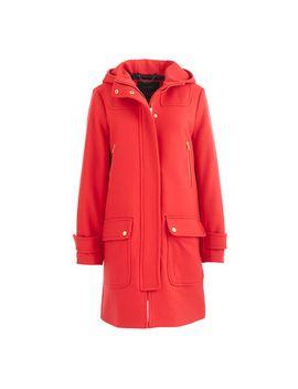 wool-melton-duffle-coat by jcrew