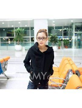 school-style-irregularity-hem-zipper-long-sleeves-hood-coat-for-women by sammy-dress