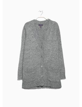 wool-blend-cardigan by mango