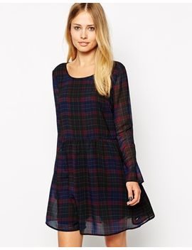 pepe-jeans-dark-checked-dress by pepe-jeans