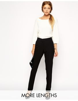 asos-straight-pants-with-jet-pocket by asos-collection