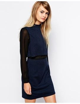 the-laden-showroom-x-paisie-double-layer-shift-dress by the-laden-showroom