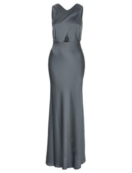 satin-cross-over-maxi-dress by topshop