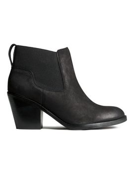 leather-boots by h&m