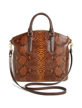 large-duxbury-leather-satchel by brahmin