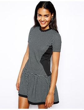 river-island-check-dropped-waist-dress by river-island