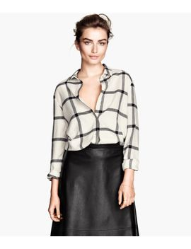 flannel-shirt by h&m