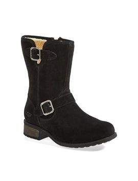 chaney-water-resistant-suede-moto-boot by ugg®